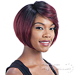 Model Model Synthetic Hair Lace Deep Invisible Diagonal Part Lace Front Wig - DAVINCI