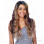 Model Model Lace Deep Invisible Diagonal Part Lace Front Wig - DIANE