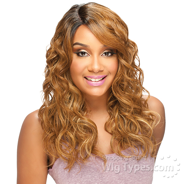 model model deep invisible part lace front wig risque