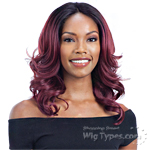 Model Model Artist Human Hair Blend Lace Front Wig - AT 215