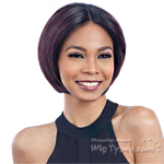 Model Model Artist Human Hair Blend Lace Front Wig - AT 217