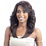 Model Model Synthetic Hair Lace Deep Invisible L Part Lace Front Wig - BEAUTY MEADOW