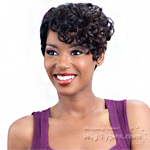 Model Model Synthetic Hair Lace Deep Invisible Diagonal Part Lace Front Wig - DAENA