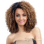 Model Model Synthetic Hair Lace Deep Invisible Diagonal Part Lace Front Wig - DARLINE