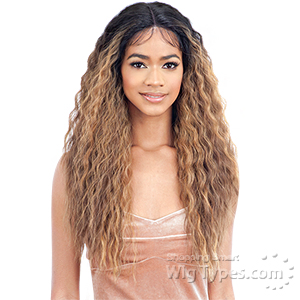 Model Model Synthetic Edges On Point Lace Front Wig - EOP 703