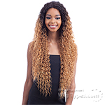 Model Model Synthetic Hair Premium Seven Star V Shaped Lace Front Wig - EV 004