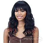 Model Model Synthetic 100% Hand Tied Swiss Lace Front Wig - EVANNA