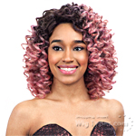 Model Model Deep Invisible Part Lace Front Wig - FANCY CURL