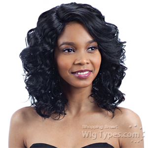 Model Model Synthetic Hair Lace Deep Invisible L Part Lace Front Wig - FLASH MEADOW