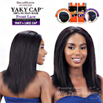 Model Model 100% Remy Human Hair Lace Front Wig - Yaky Cap Lace 18 (Full Sew-In, Double Weft Yaky on a Cap)