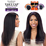 Model Model 100% Remy Human Hair Lace Front Wig - Yaky Cap Lace 22 (Full Sew-In, Double Weft Yaky on a Cap)