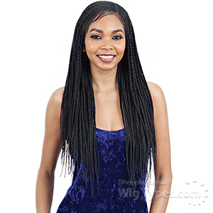 Model Model Synthetic Hair Braided 11x4 Lace Wig - LEMONADE BRAIDS
