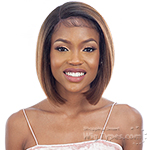 Model Model Synthetic Edges On Point Lace Front Wig - EOP 701