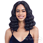 Model Model Lace To Lace Synthetic Hair Lace Front Wig - LYNDSEY (5 inch deep center part)