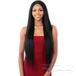 Model Model Synthetic Hair Lace Front Mint Wig - ML 01