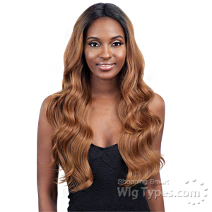 Model Model Synthetic Freedom Part Lace Wig - NUMBER 202