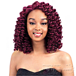 Model Model Synthetic Hair Lace Deep Invisible L Part Lace Front Wig - RINGGLE CURL