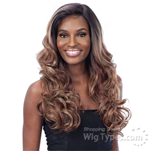 Model Model Synthetic Hair Premium Seven Star Lace Front Wig - ROSALIE