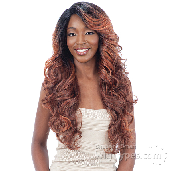 Model Model Synthetic Hair Lace Part Wig Larry 6 Inch Deep Lace