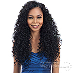 Model Model Synthetic Oval Part Crochet Wig - BEACH TWIST