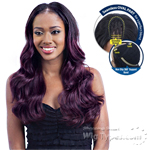 Model Model Synthetic Oval Part Wig - BOUNCY WAVE