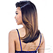 Model Model Synthetic Hair Over Bang Lace Part Wig - FANTASIA (5 inch deep lace side part)