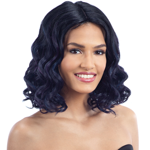 Model Model Synthetic Hair Lace Part Wig - LAYTON (6 inch deep lace center part)
