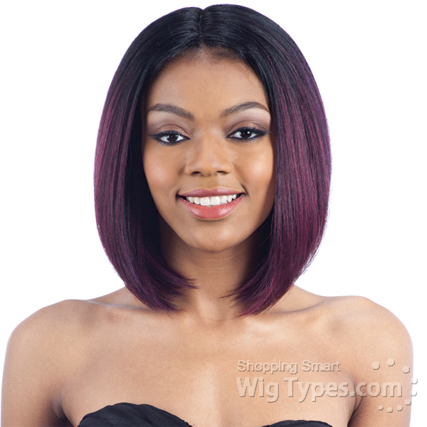 Model Model Synthetic Hair Lace Part Wig Livia 6 Inch Deep Lace