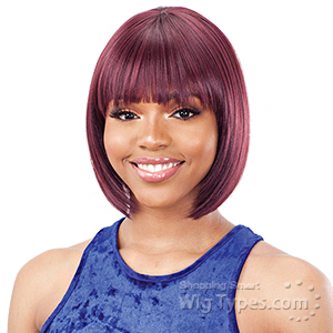 Model Model Synthetic Hair Mint Wig - M 04