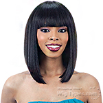 Model Model Synthetic Cozy Cap Wig - CC 001