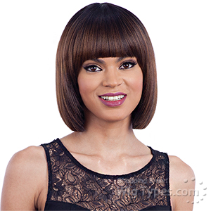Model Model Synthetic Hair Clean Cap Wig - NUMBER 17