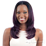 Model Model Synthetic Oval Part Wig - OVAL PART LAYERED CUT