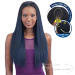 Model Model Synthetic Oval Part Wig - OVAL PART STRAIGHT