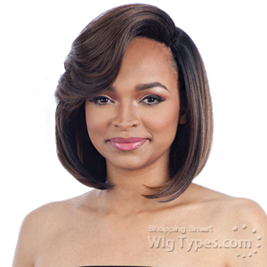 Model Model Synthetic Extreme Side L Part Wig - ROSE