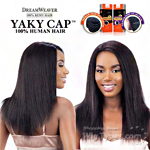Model Model 100% Remy Human Hair Wig - Yaky Cap 20 (Full Sew-In, Double Weft Yaky on a Cap)