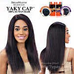 Model Model 100% Remy Human Hair Wig - Yaky Cap 22 (Full Sew-In, Double Weft Yaky on a Cap)