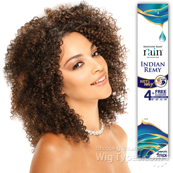 100% Human Hair Moisture Remy Rain - INDIAN REMY JERRY CURL 4PCS (10 ... f1953728bb56