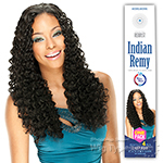 Model Model 100% Indian Remy Human Hair Weaving - REMIST INDIAN REMY DEEP KISS 4PCS (Wet & Wavy)