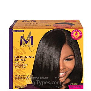 Motions Silkening Shine No-Lye Relaxer System-Super