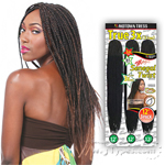 Motown Tress End-Loop Synthetic Hair Senegal Twist Braid - CST 3X MEGA (12/12/12)
