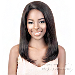 Motown Tress 100% Brazilian Virgin Remi Human Hair Lace Wig - HBR L COY