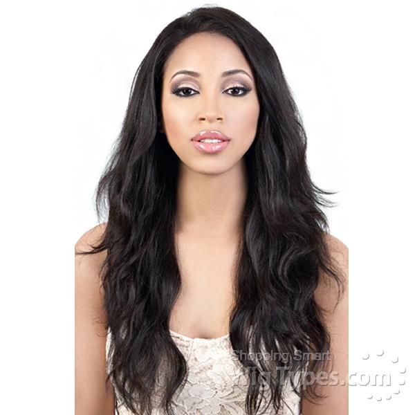 Motown Tress 100 Brazilian Virgin Remi Human Hair Lace Wig Hbr L