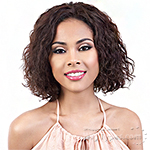 Motown Tress 100% Brazilian Virgin Remi Human Hair Lace Wig - HBR L YARA (2inch deep ear to ear lace)