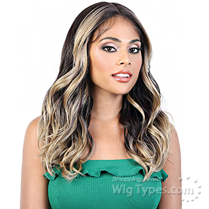 Motown Tress Synthetic Hair Deep Part Let's Lace Wig - LDP JULIE