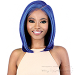 Motown Tress Synthetic Hair HD Invisible 13X7 Lace Wig - LS137 BLUE