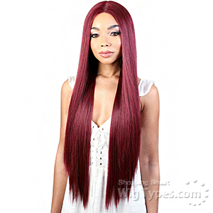 Motown Tress Synthetic Hair Deep Part Let's Lace Wig - LDP FINE32