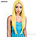 Motown Tress Synthetic Hair Deep Part Let's Lace Wig - LDP NEON