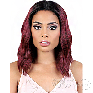 Motown Tress Synthetic Hair Deep Part Let's Lace Wig - LDP TRINA