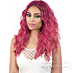 Motown Tress Synthetic Hair Deep Part Let's Lace Wig - LDP NEON3