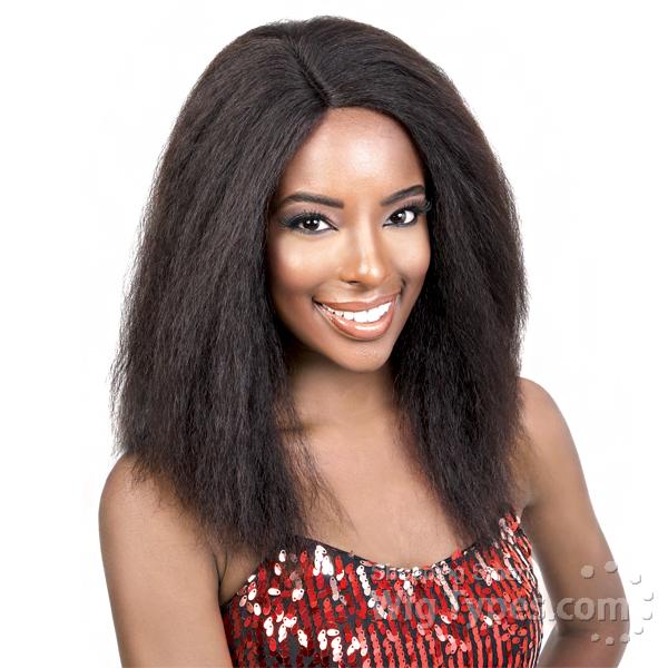 Motown Tress 100 Brazilian Virgin Remi Human Hair Deep Part Wig